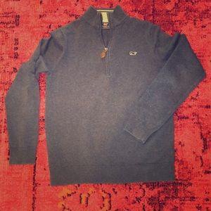Vineyard Vines Boy's zip sweater size S